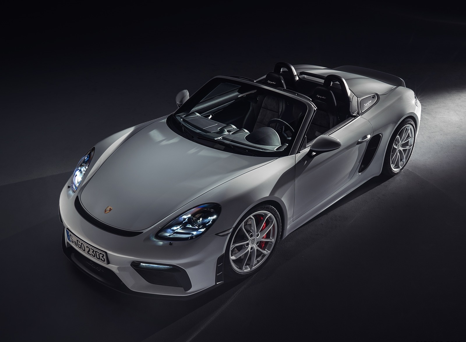 2020 Porsche 718 Spyder Front Three-Quarter Wallpapers (8)