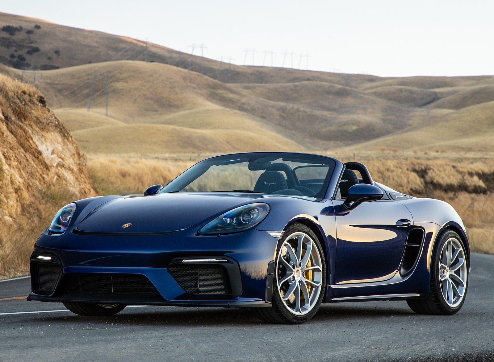 2020 Porsche 718 Spyder Front Three-Quarter Wallpapers (6)