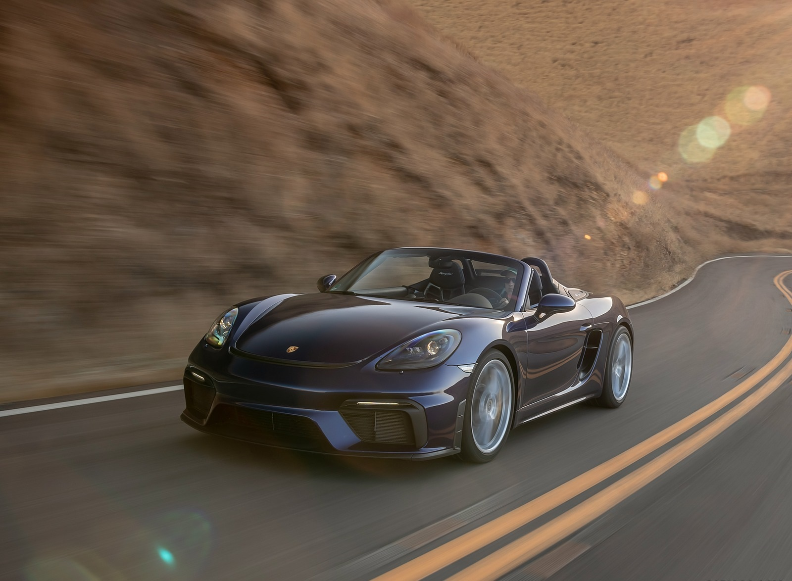 2020 Porsche 718 Spyder Front Three-Quarter Wallpapers (3)