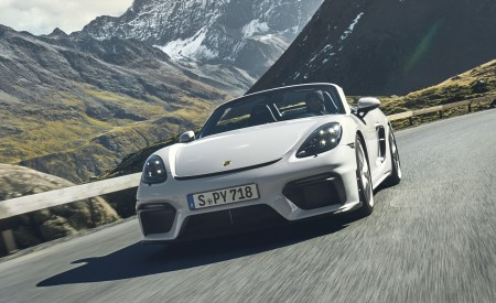 2020 Porsche 718 Spyder Front Wallpapers 450x275 (251)