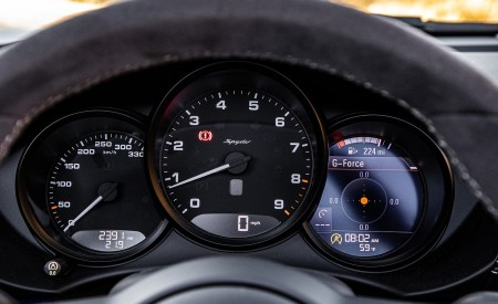 2020 Porsche 718 Spyder Instrument Cluster Wallpapers 450x275 (17)