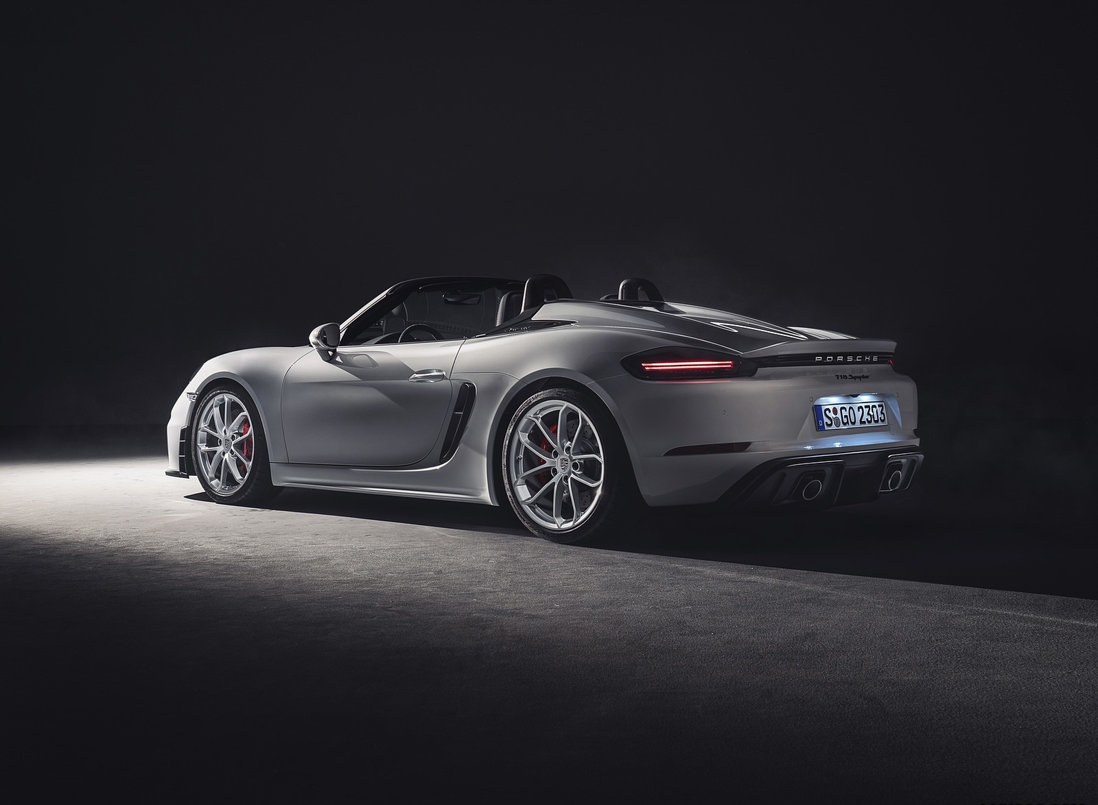 2020 Porsche 718 Spyder Rear Three-Quarter Wallpapers (9)
