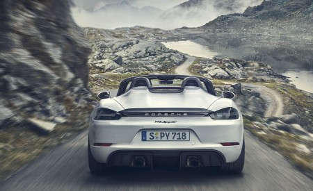 2020 Porsche 718 Spyder Rear Wallpapers 450x275 (254)