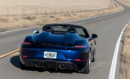 2020 Porsche 718 Spyder Rear Wallpapers 450x275 (5)