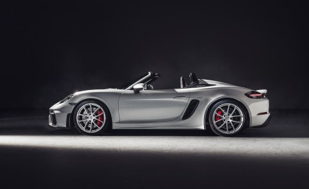 2020 Porsche 718 Spyder Side Wallpapers 450x275 (257)