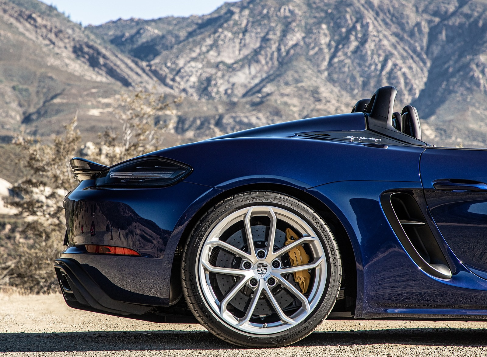 2020 Porsche 718 Spyder Wheel Wallpapers (12)