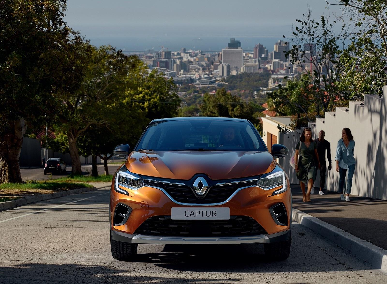 2020 Renault Captur (Color: Atacama Orange) Front Wallpapers (2)