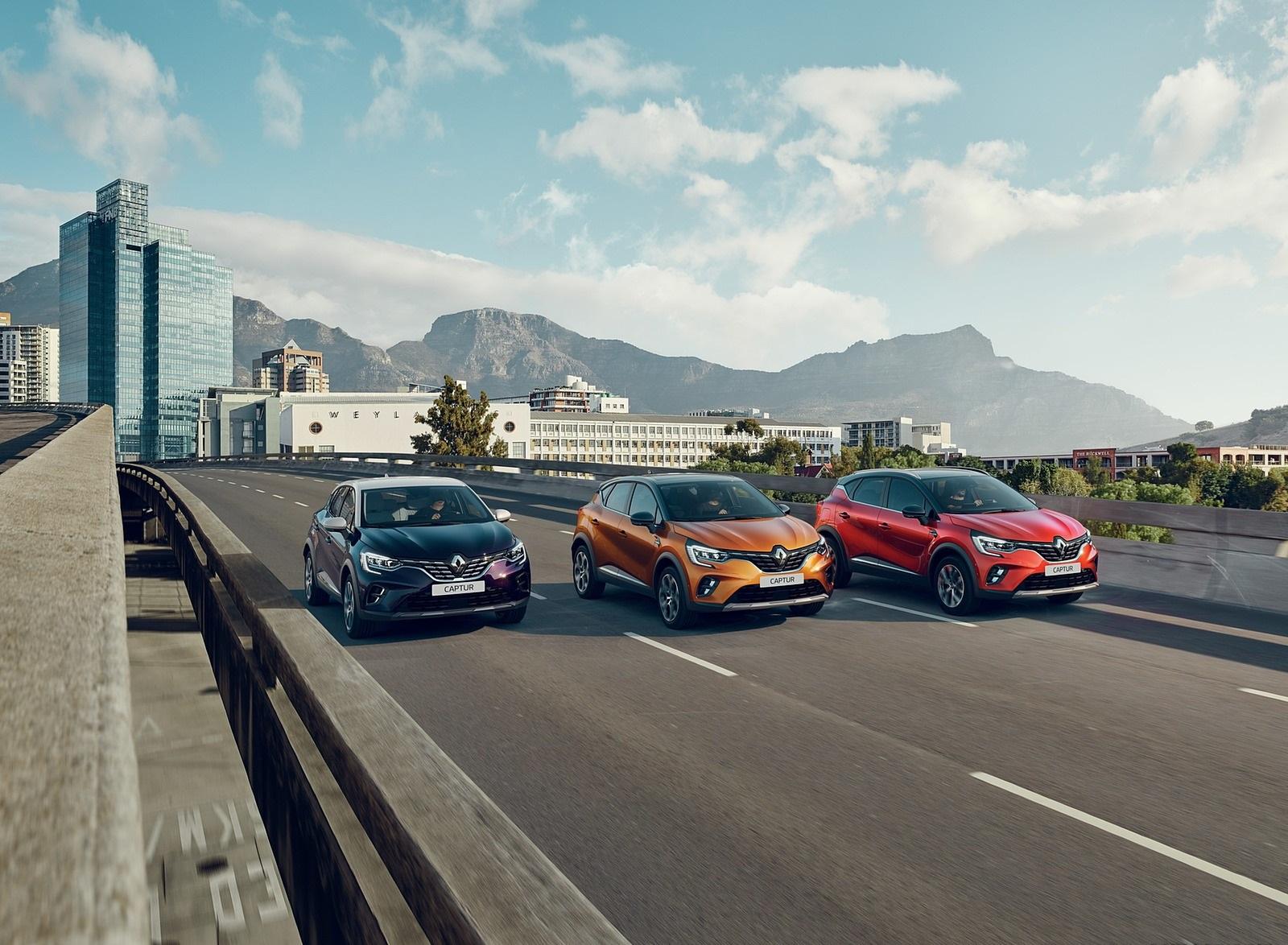 2020 Renault Captur (Color: Atacama Orange) Wallpapers (1)