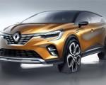 2020 Renault Captur Design Sketch Wallpapers 150x120 (21)