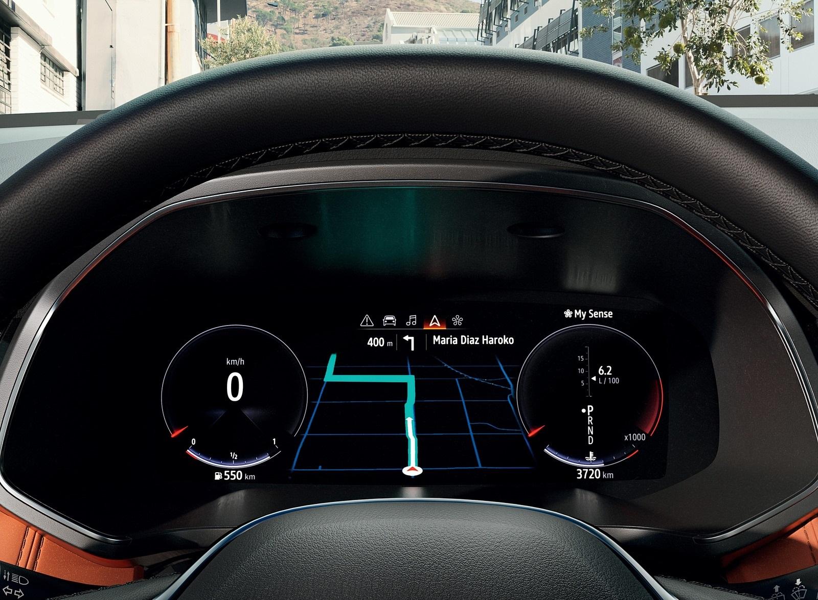 2020 Renault Captur Digital Instrument Cluster Wallpapers (10)