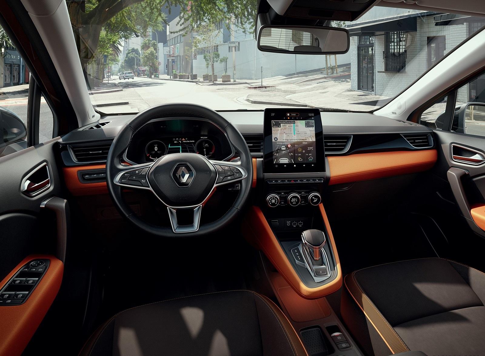 2020 Renault Captur Interior Wallpapers (9)