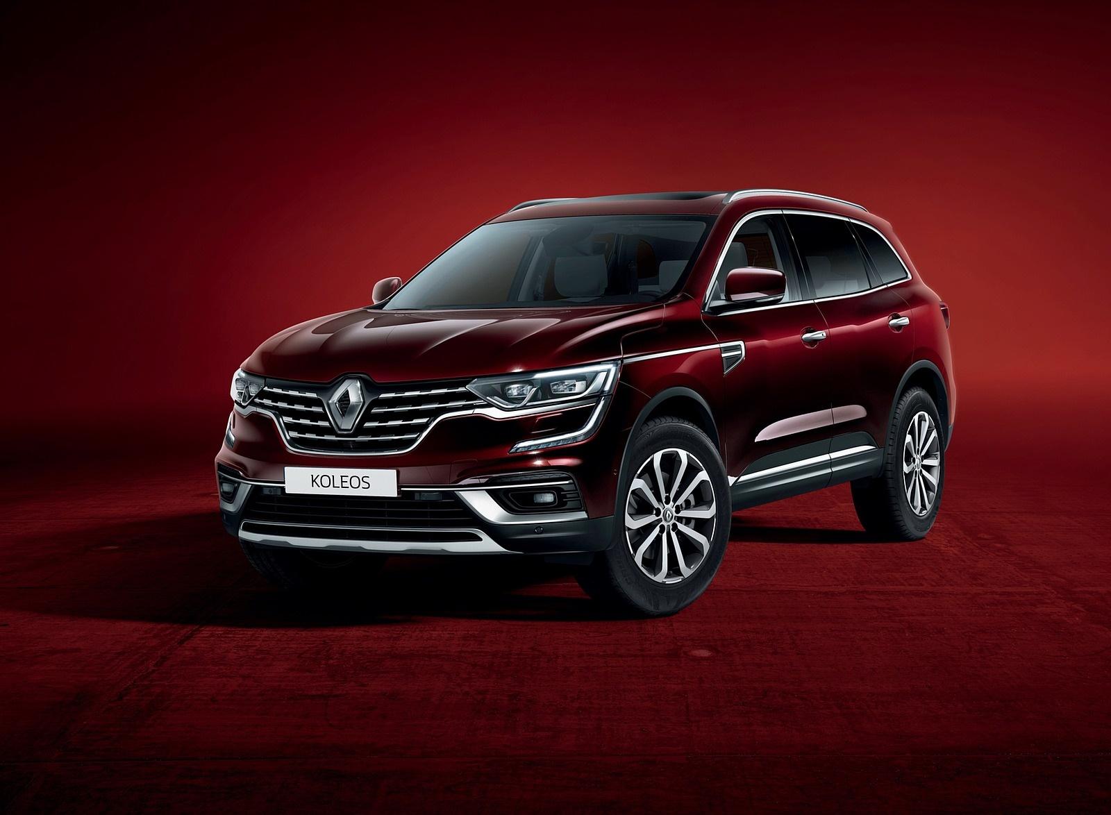 2020 Renault Koleos Front Three-Quarter Wallpapers (3)