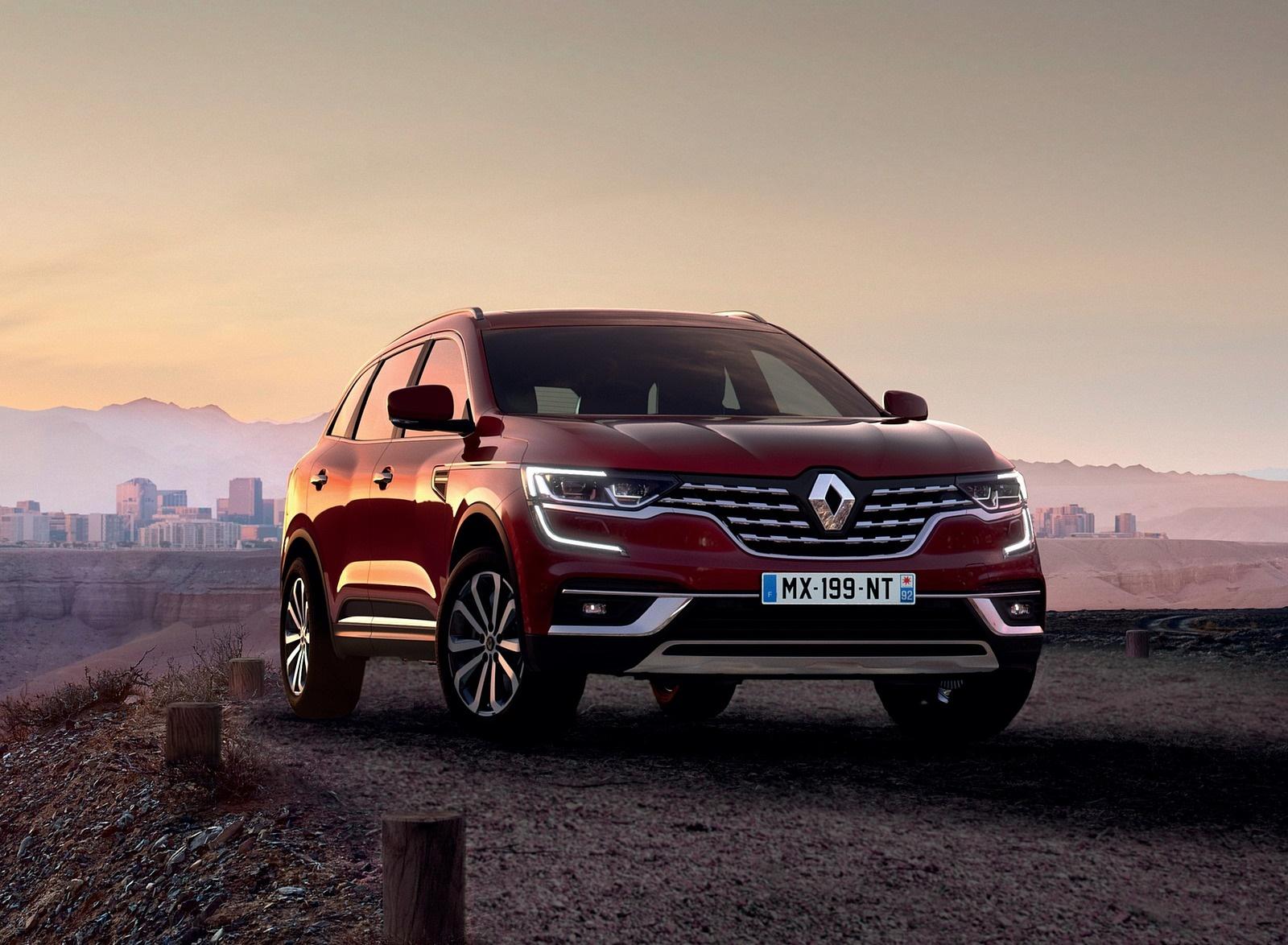 2020 Renault Koleos Front Three-Quarter Wallpapers (1)