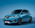 2020 Renault Zoe (Color: Lightning Blue) Front Three-Quarter Wallpapers 150x120 (25)
