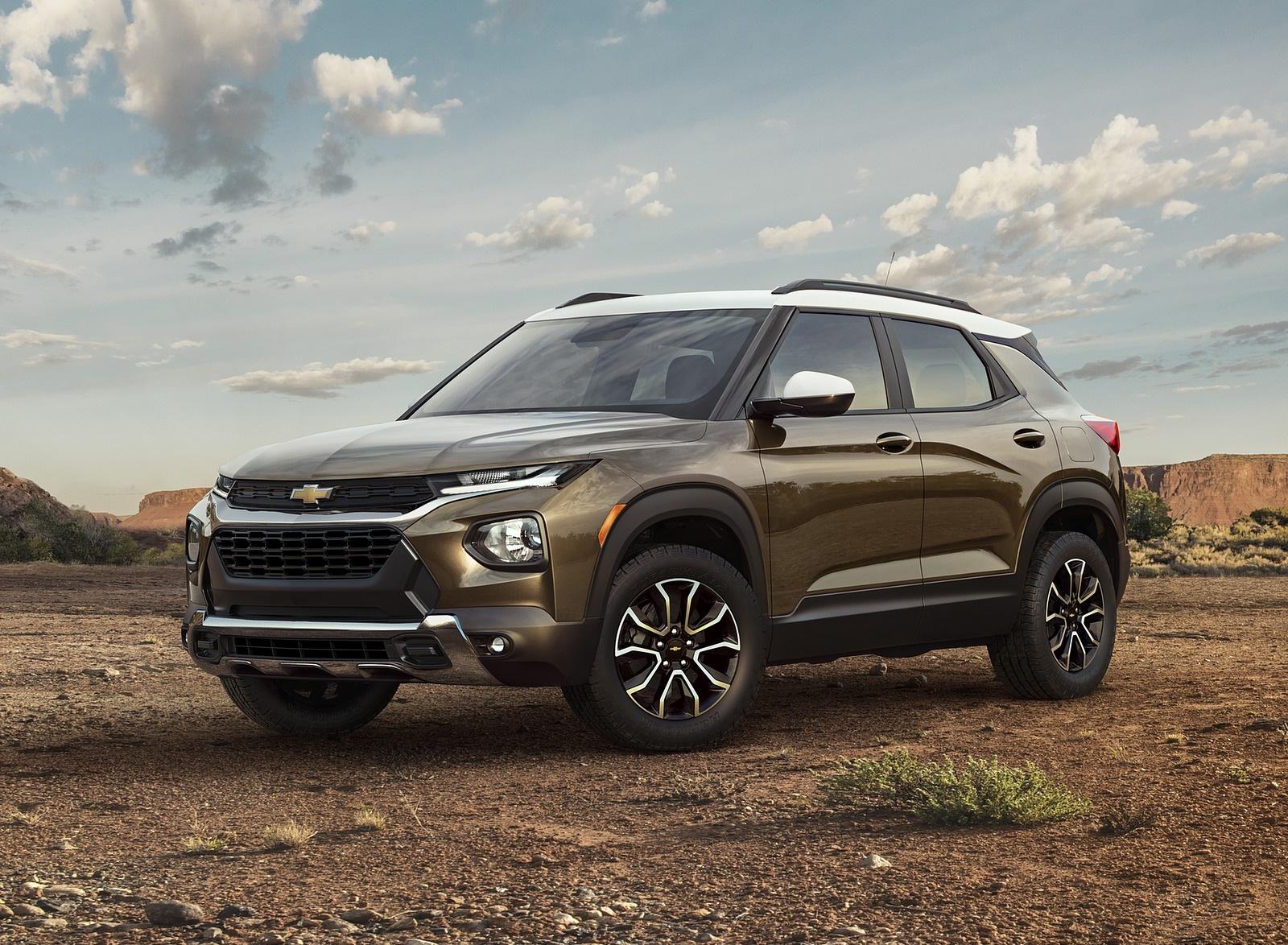 2021 Chevrolet Trailblazer ACTIV Front Three-Quarter Wallpapers (6)