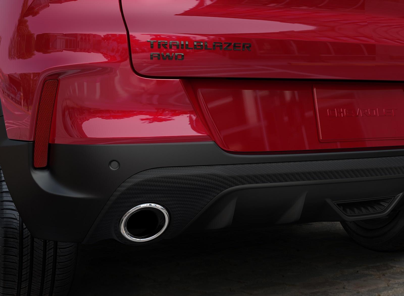 2021 Chevrolet Trailblazer RS Detail Wallpapers (5)