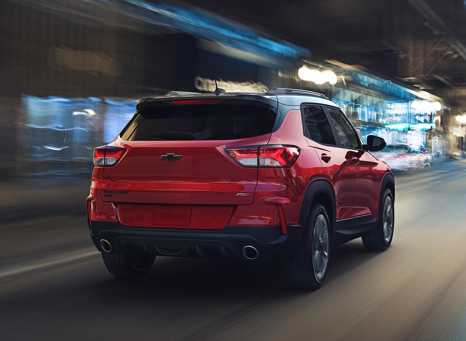 2021 Chevrolet Trailblazer RS Rear Wallpapers (2)