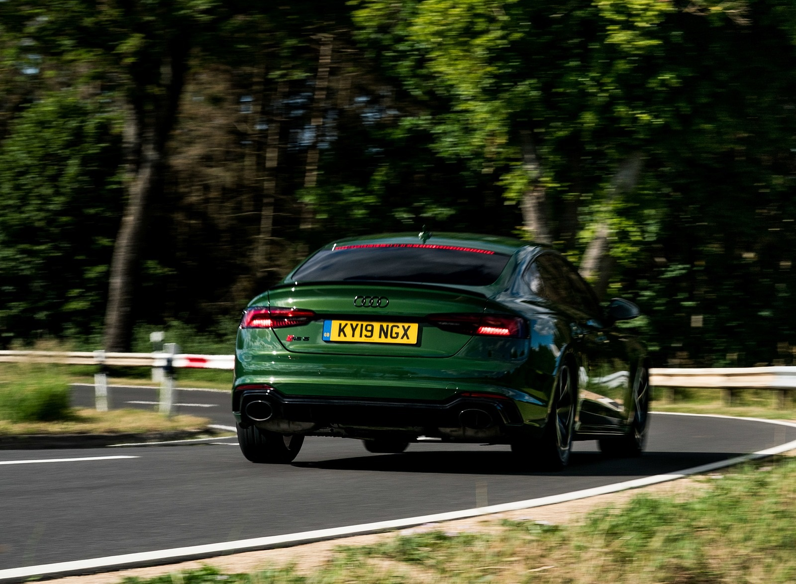 2019 Audi RS 5 Sportback (UK-Spec) Rear Wallpapers (9)