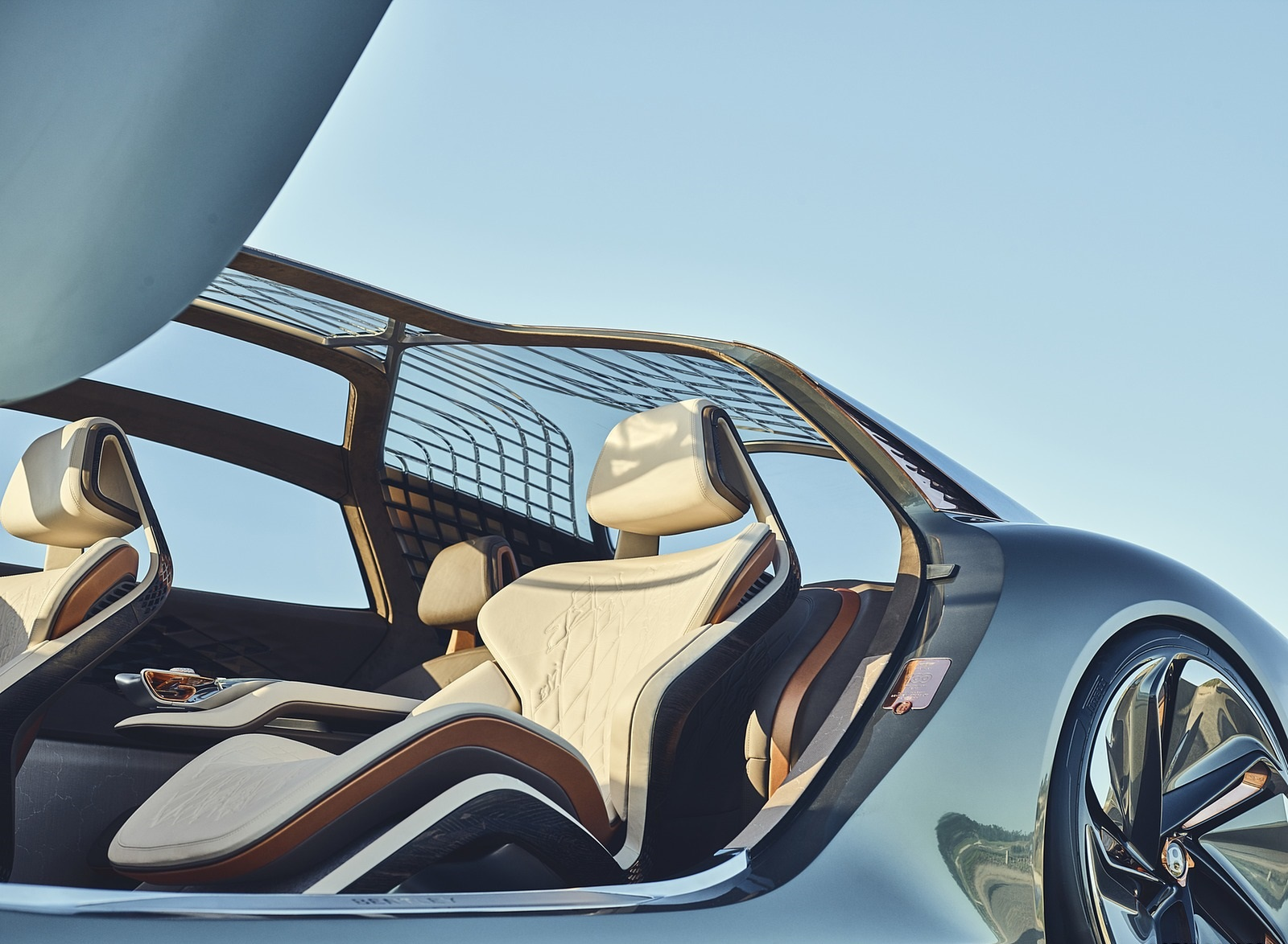 2019 Bentley EXP 100 GT Concept Interior Detail Wallpapers (6)