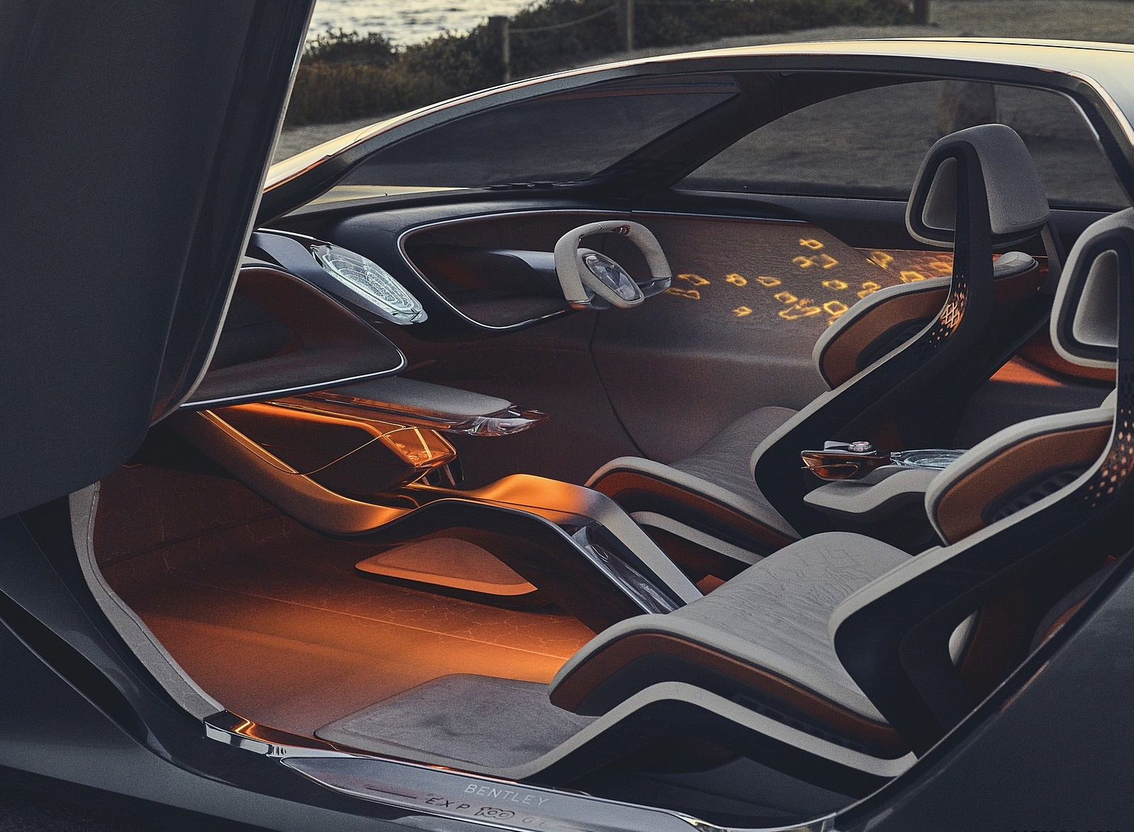 2019 Bentley EXP 100 GT Concept Interior Wallpapers (8)