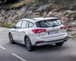 2019 Ford Focus Active Wagon (Color: Metropolis White) Rear Three-Quarter Wallpapers 150x120 (9)