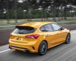2019 Ford Focus ST (Euro-Spec Color: Orange Fury) Rear Three-Quarter Wallpapers 150x120 (9)