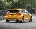 2019 Ford Focus ST (Euro-Spec Color: Orange Fury) Rear Three-Quarter Wallpapers 150x120 (10)