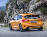2019 Ford Focus ST (Euro-Spec Color: Orange Fury) Rear Three-Quarter Wallpapers 150x120 (20)