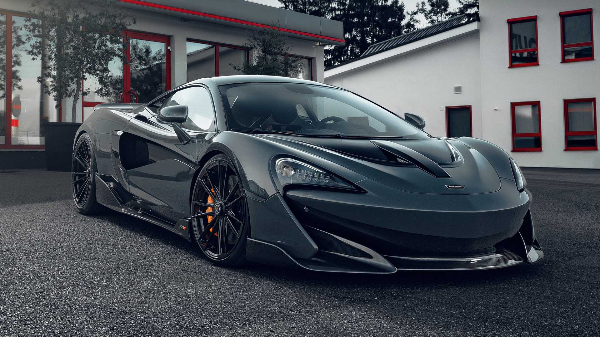2019 NOVITEC McLaren 600LT Front Three-Quarter Wallpapers (3)