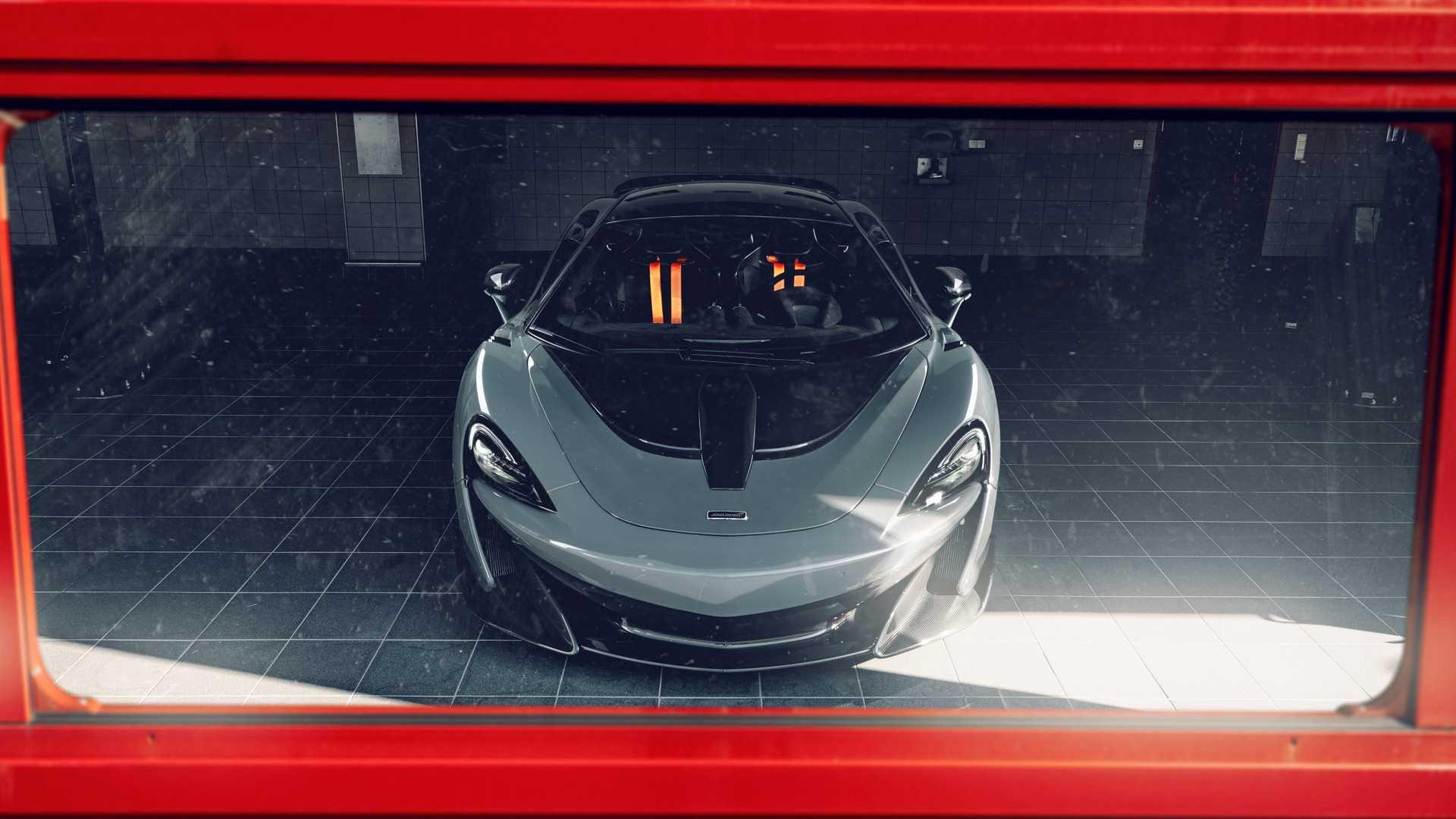 2019 NOVITEC McLaren 600LT Front Wallpapers (11)