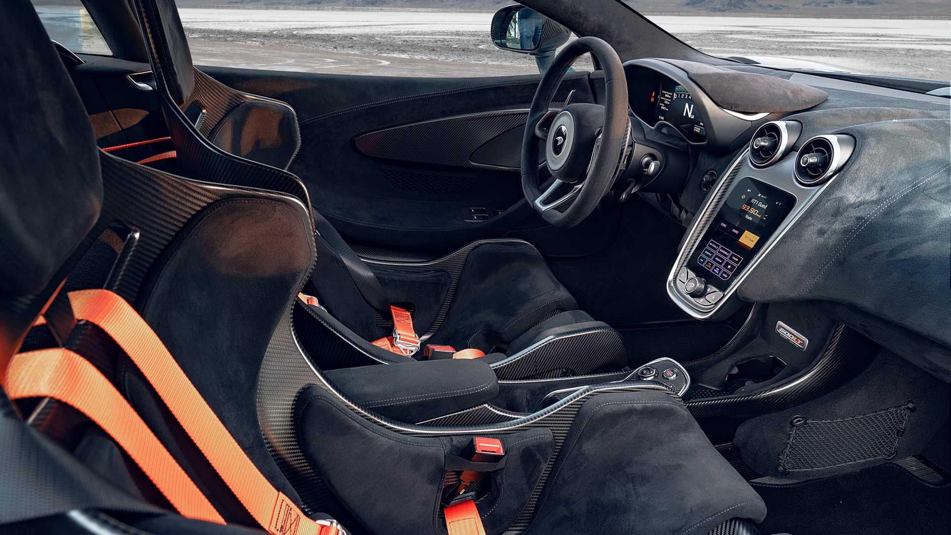 2019 NOVITEC McLaren 600LT Interior Wallpapers (12)