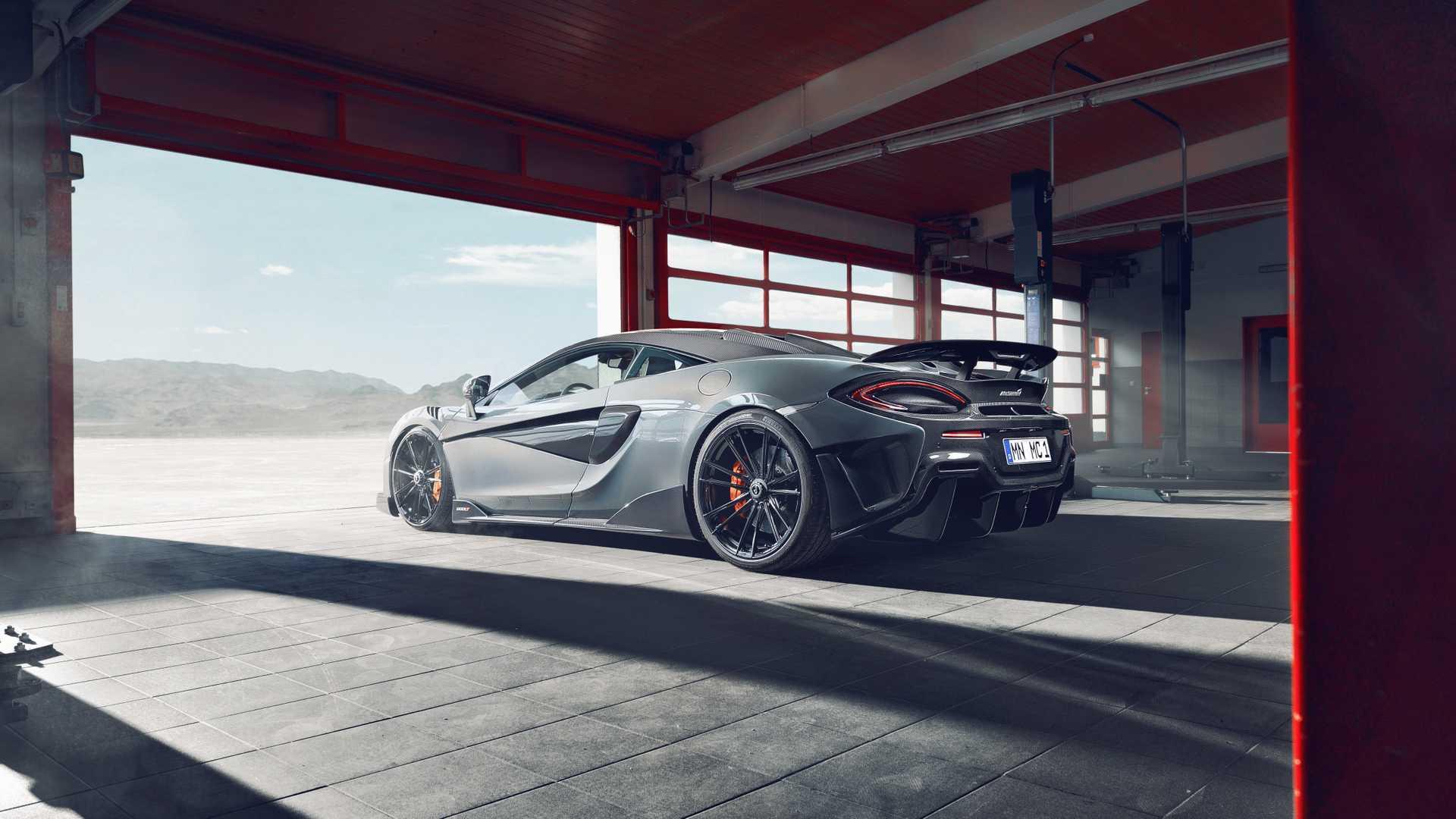 2019 NOVITEC McLaren 600LT Rear Three-Quarter Wallpapers (5)