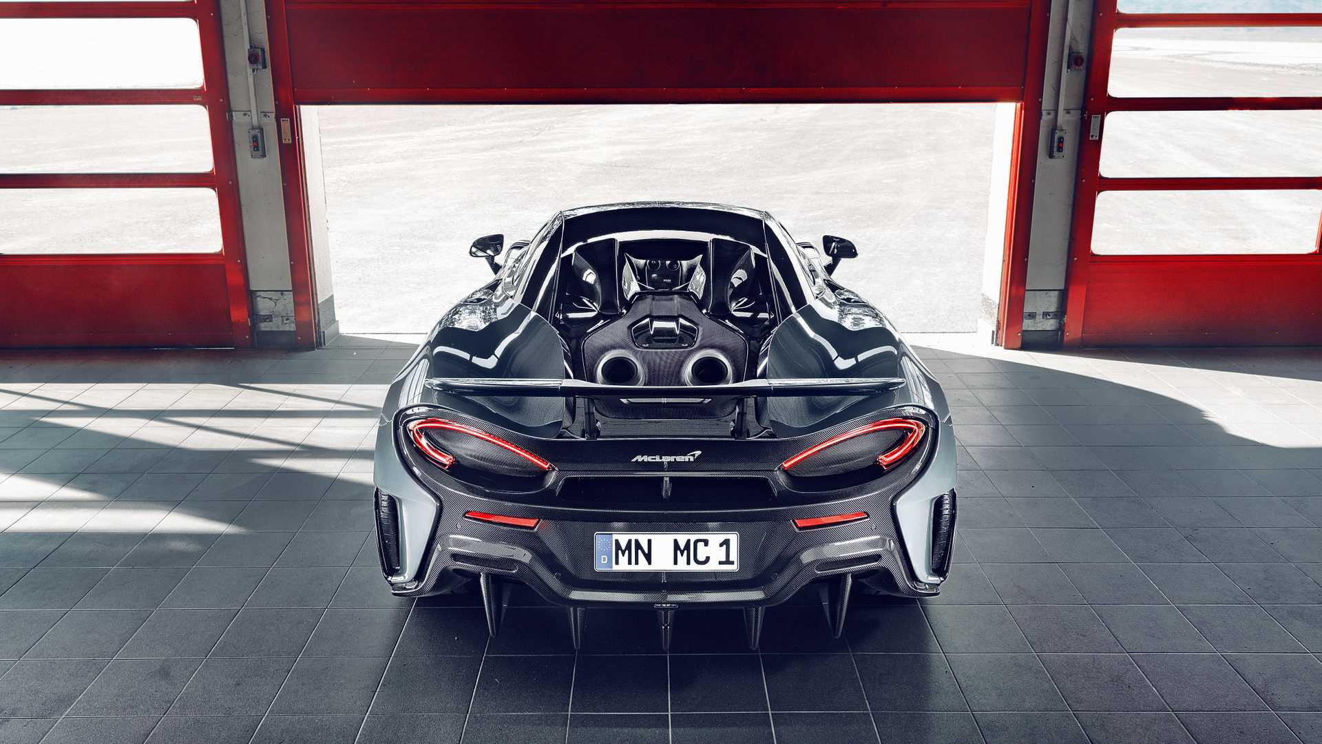 2019 NOVITEC McLaren 600LT Rear Wallpapers (8)