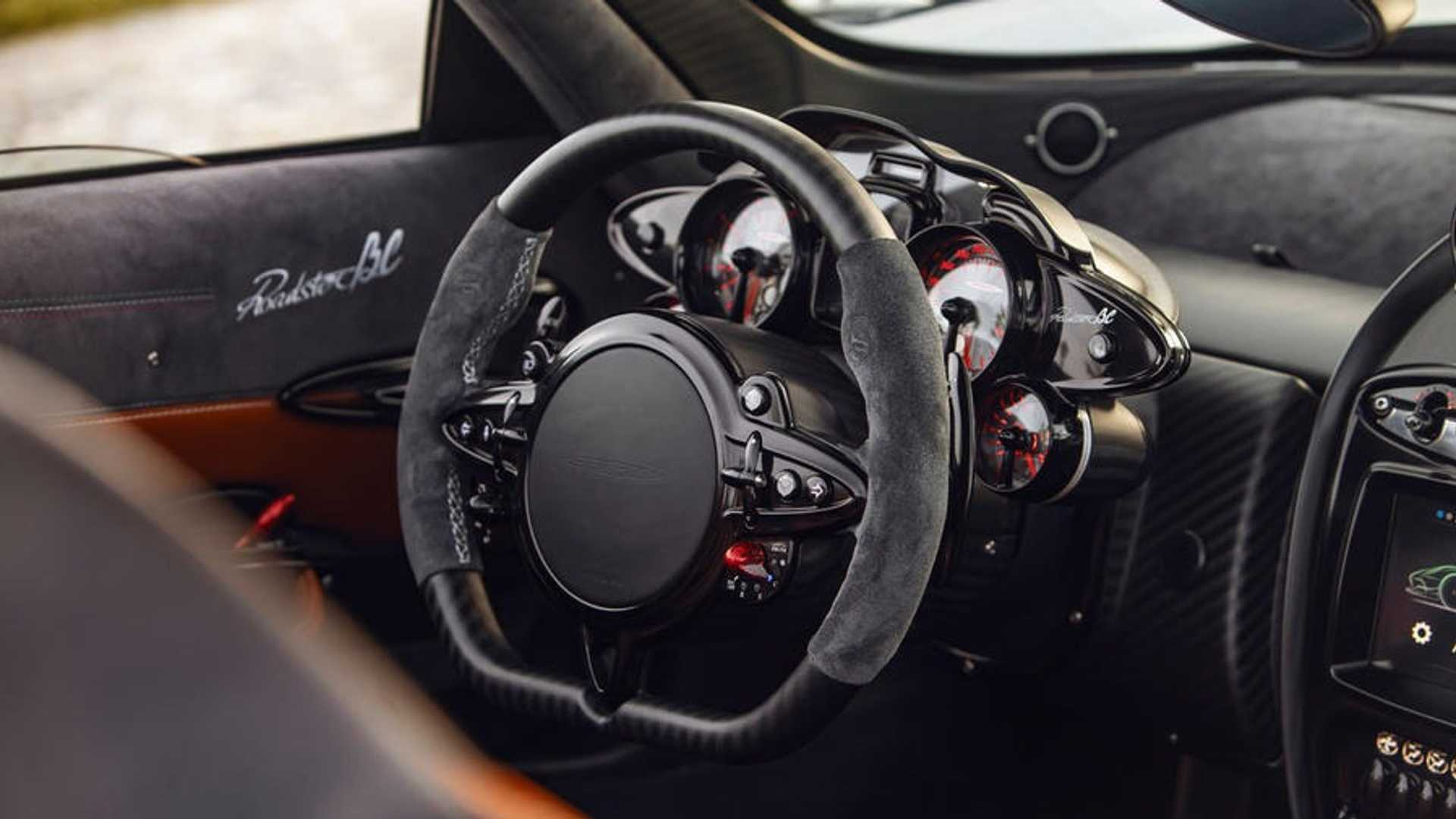 2019 Pagani Huayra Roadster Bc Interior Steering Wheel Wallpapers 27 Newcarcars