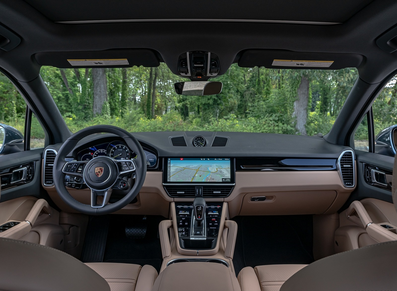 2019 Porsche Cayenne E-Hybrid (US-Spec) Interior Cockpit Wallpapers #32 of 37