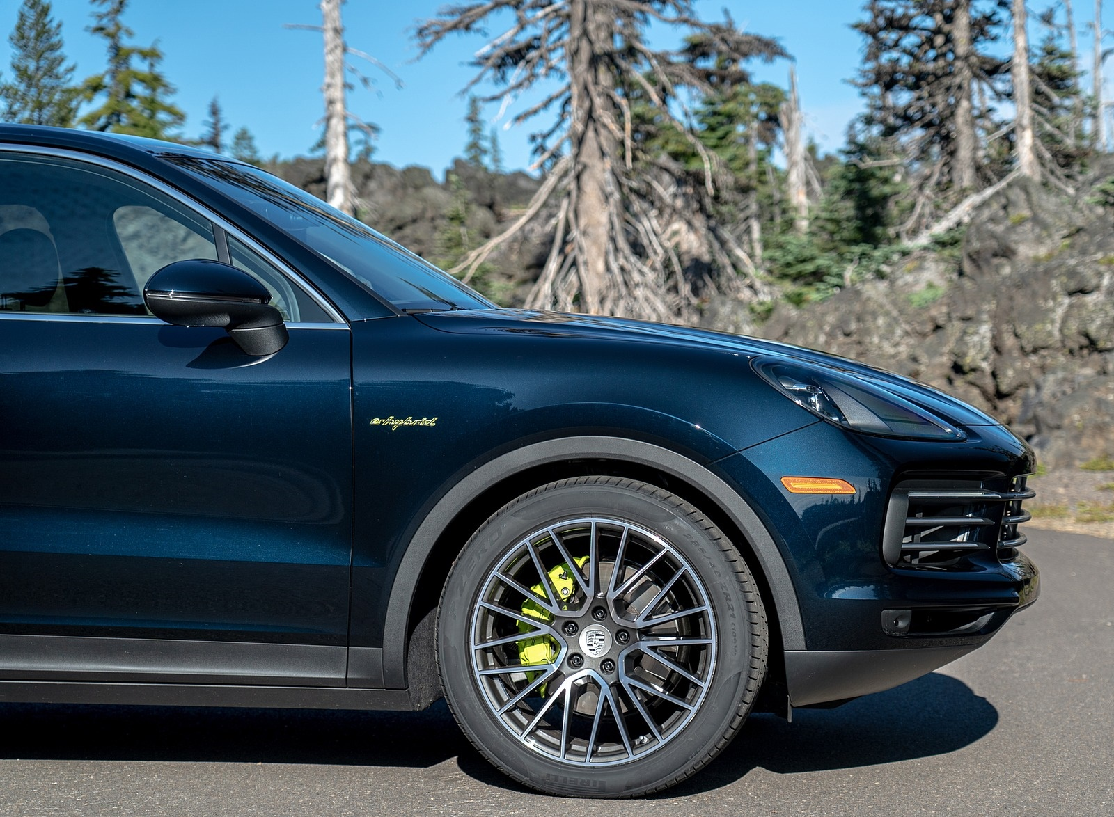 2019 Porsche Cayenne E-Hybrid (US-Spec) Wheel Wallpapers #23 of 37