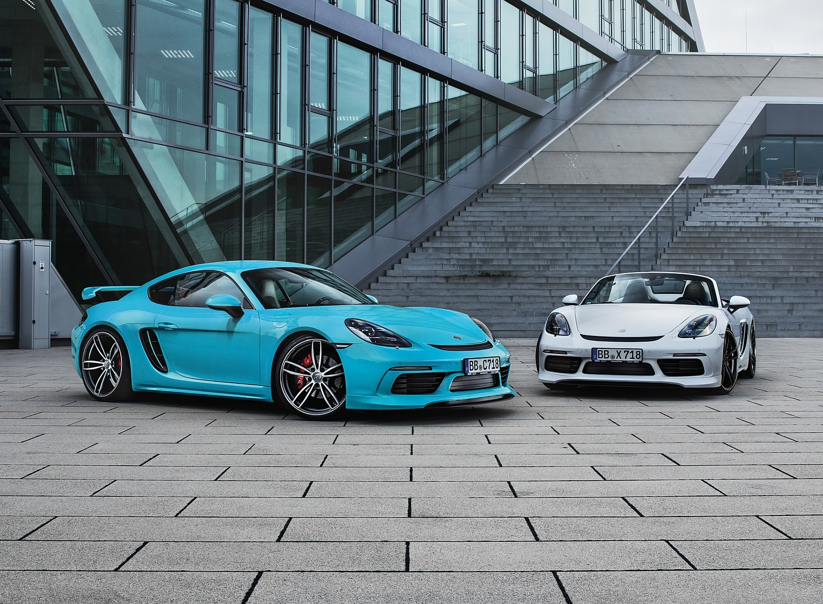 2019 TECHART Porsche 718 Boxster and Cayman Wallpapers (2)