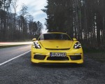 2019 TECHART Porsche 718 Cayman Front Wallpapers 150x120 (22)