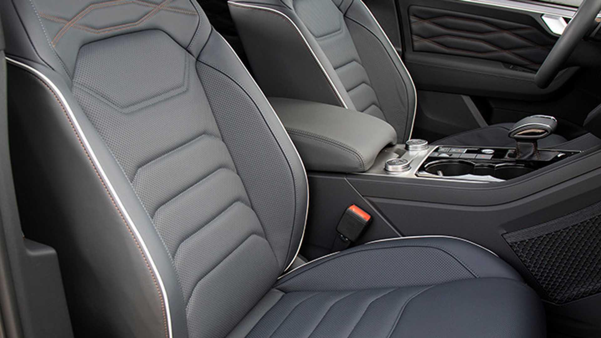 2019 Volkswagen Touareg ONE Million Interior Front Seats Wallpapers (8)