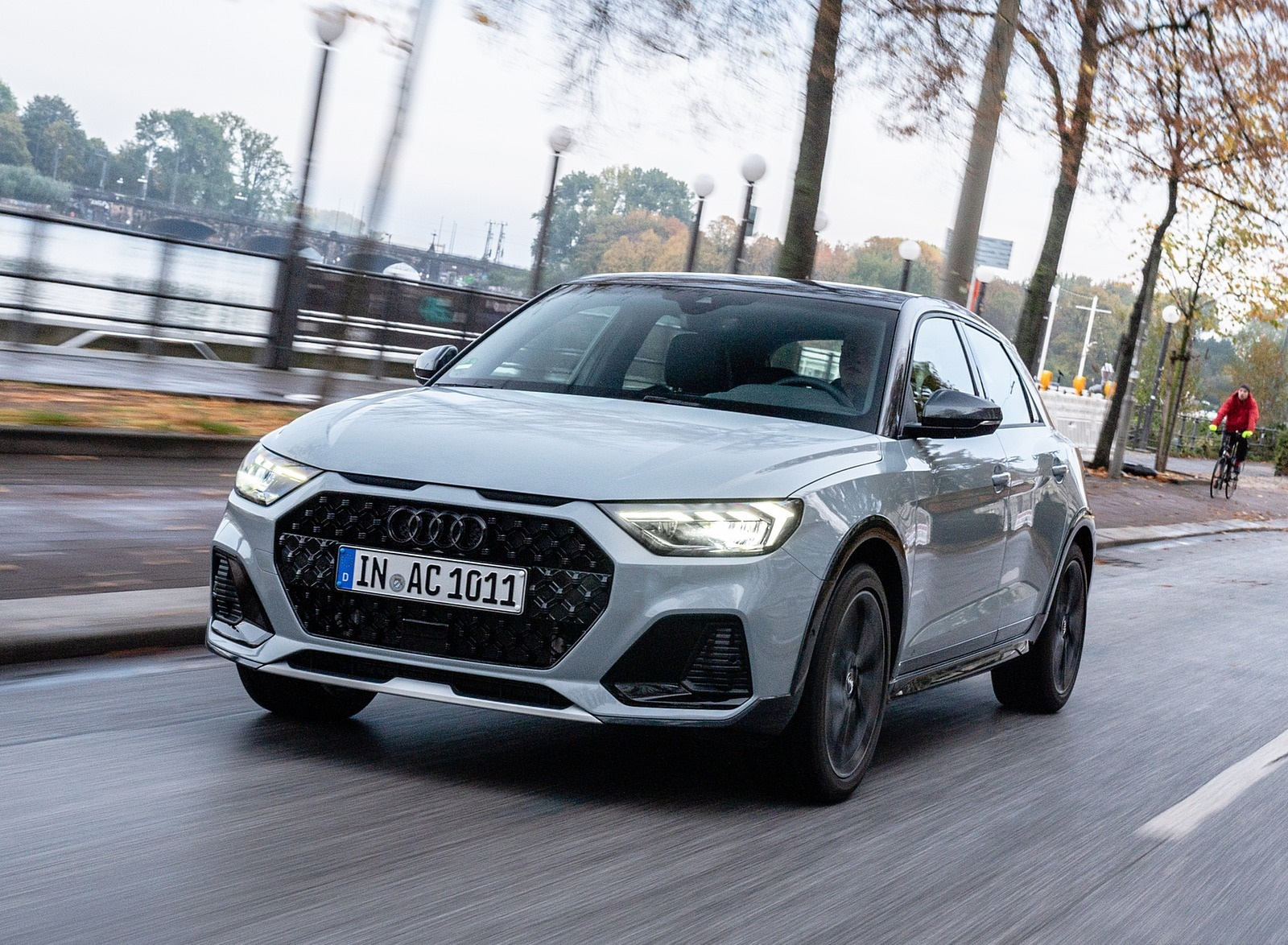 2020 Audi A1 Citycarver (Color: Arrow Gray) Front Three-Quarter Wallpapers (1)