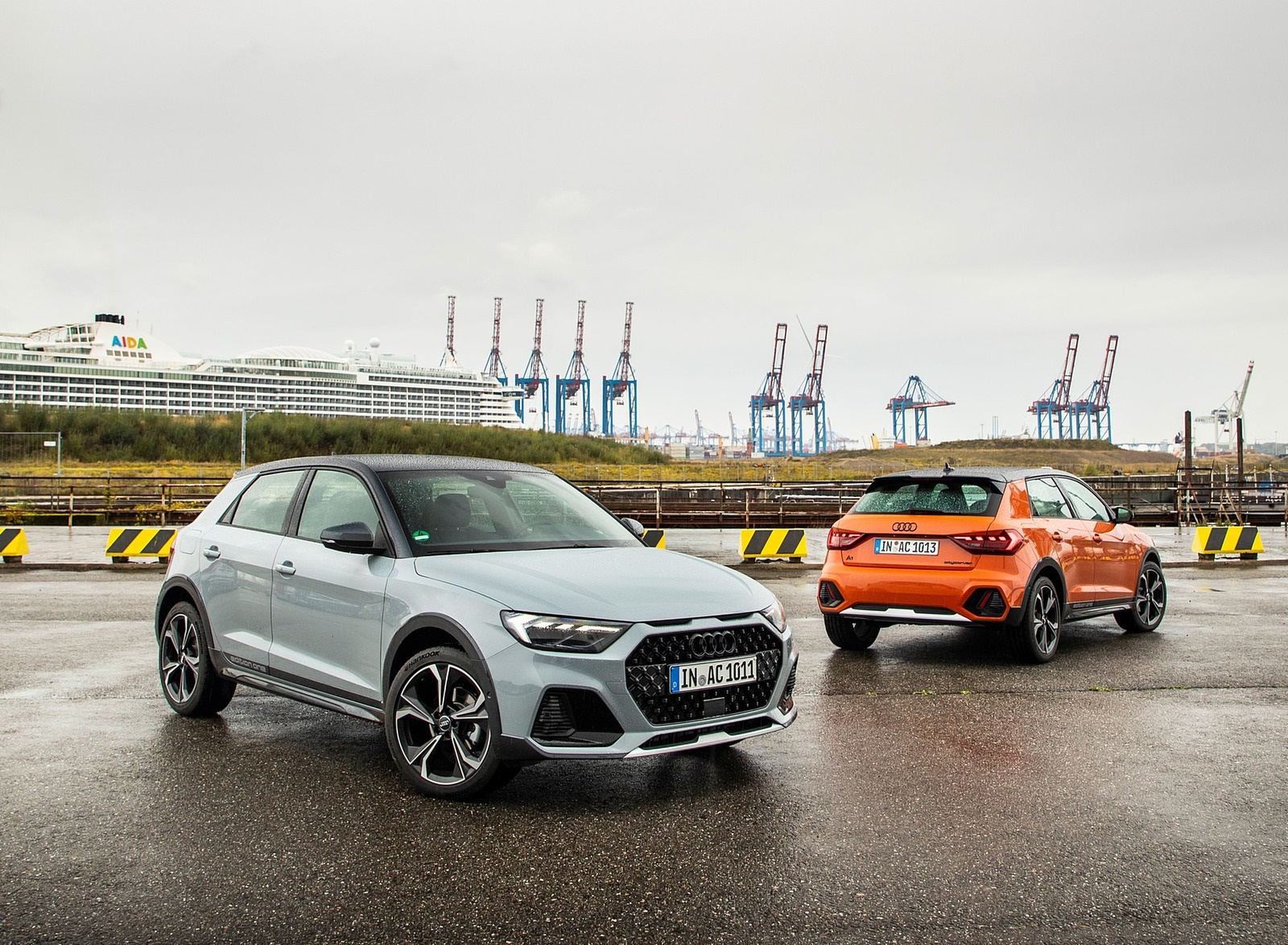 2020 Audi A1 Citycarver (Color: Arrow Gray) Front Three-Quarter Wallpapers (3)