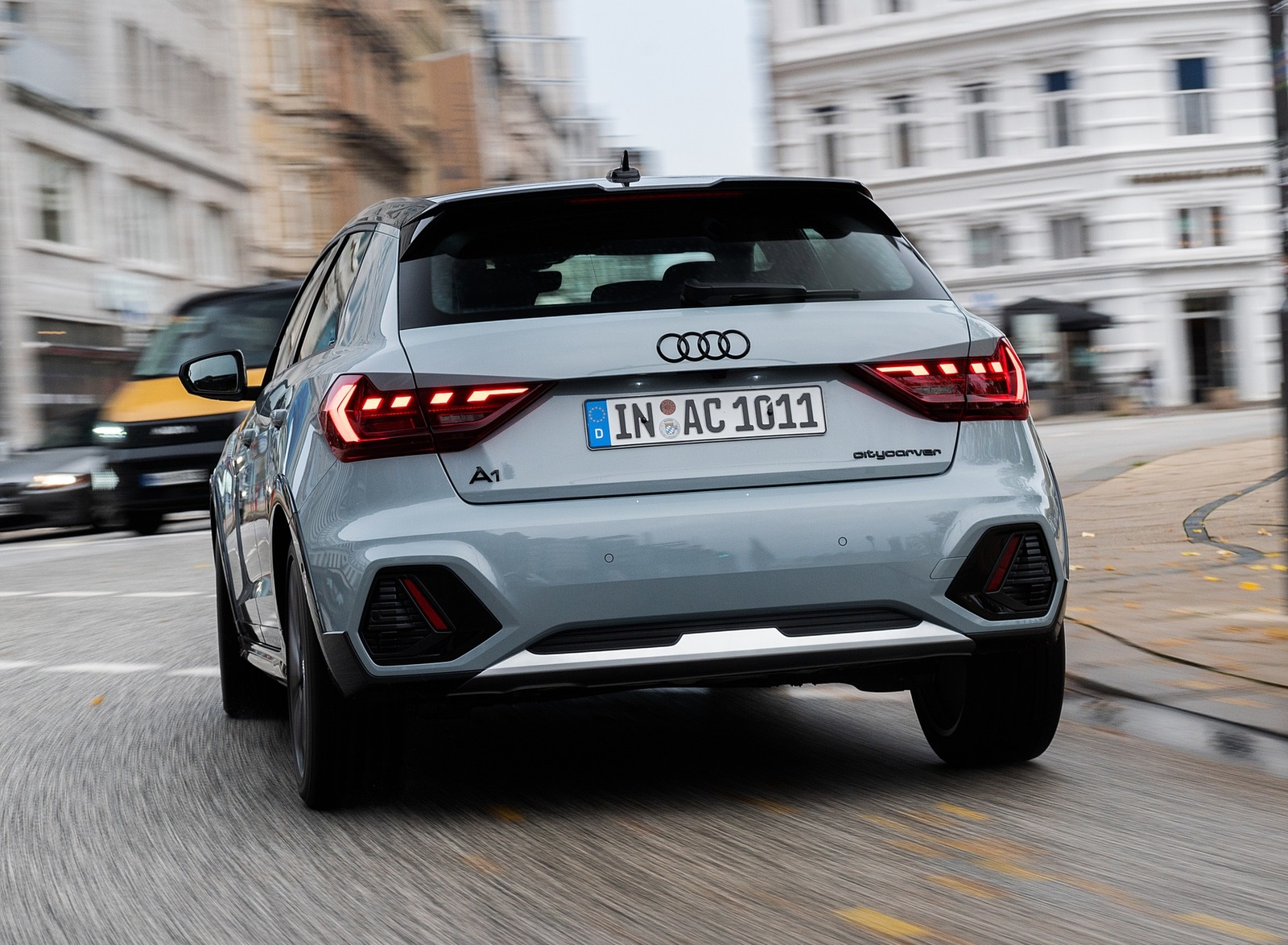 2020 Audi A1 Citycarver (Color: Arrow Gray) Rear Wallpapers (6)