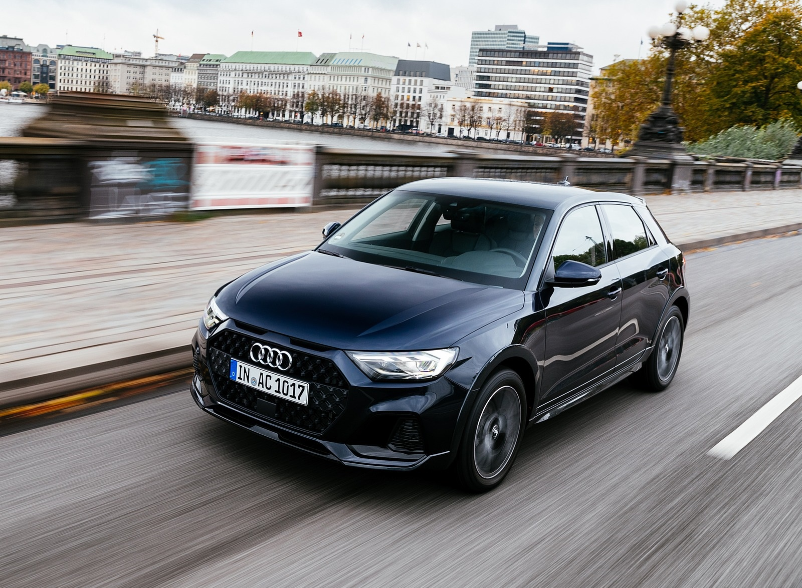 2020 Audi A1 Citycarver (Color: Firmament Blue) Front Three-Quarter Wallpapers (11)