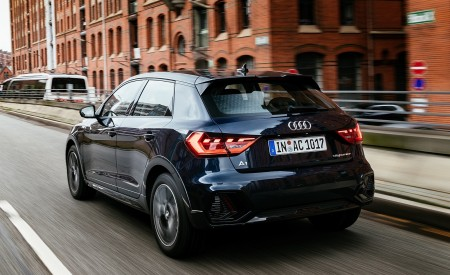 2020 Audi A1 Citycarver (Color: Firmament Blue) Rear Three-Quarter Wallpapers 450x275 (13)