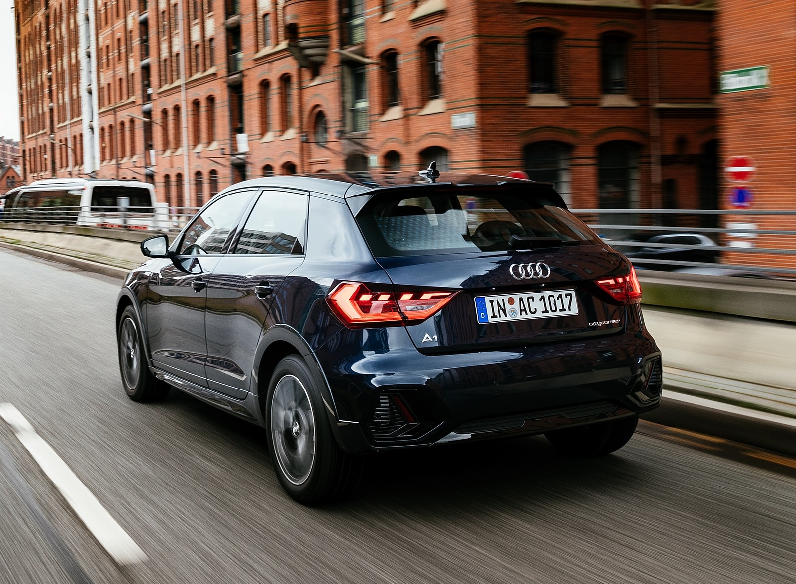 2020 Audi A1 Citycarver (Color: Firmament Blue) Rear Three-Quarter Wallpapers (13)