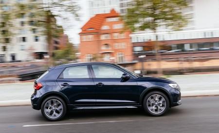 2020 Audi A1 Citycarver (Color: Firmament Blue) Side Wallpapers 450x275 (15)