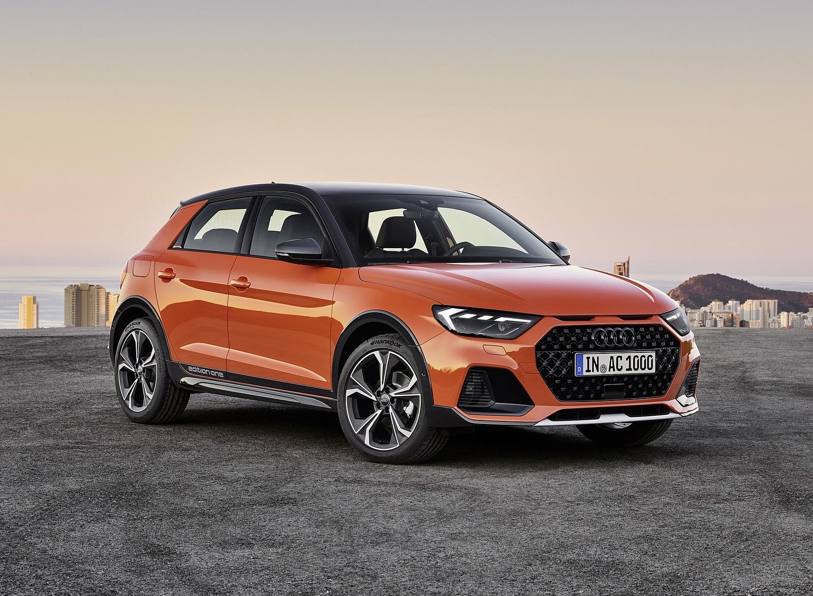 2020 Audi A1 Citycarver (Color: Pulse Orange) Front Three-Quarter Wallpapers (9)