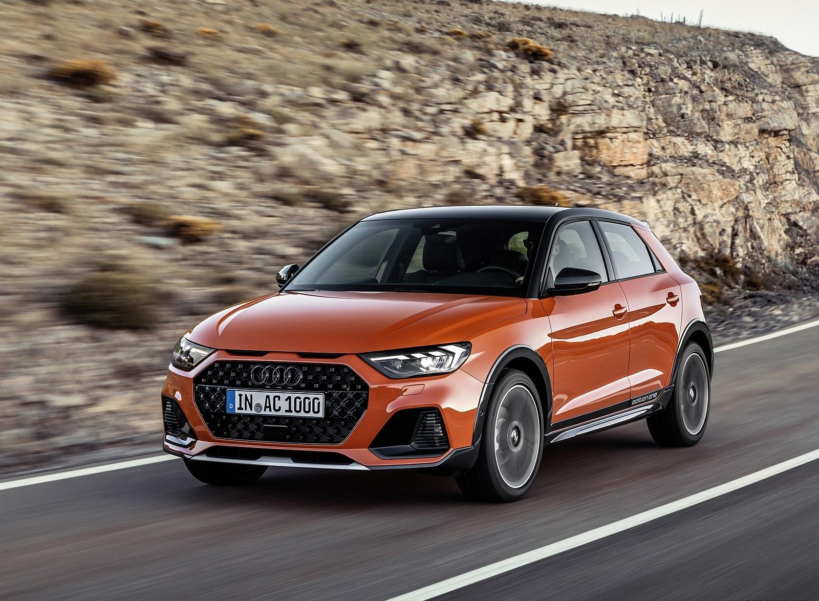 2020 Audi A1 Citycarver (Color: Pulse Orange) Front Three-Quarter Wallpapers (1)