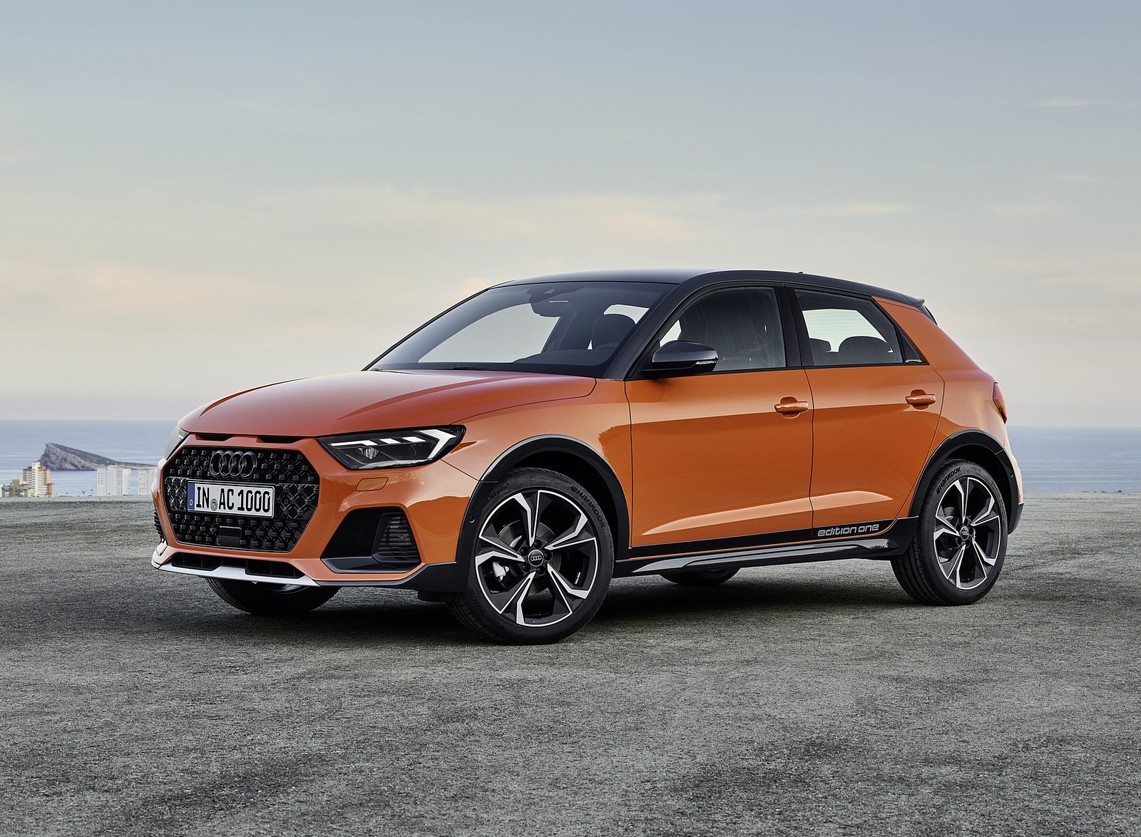 2020 Audi A1 Citycarver (Color: Pulse Orange) Front Three-Quarter Wallpapers (10)