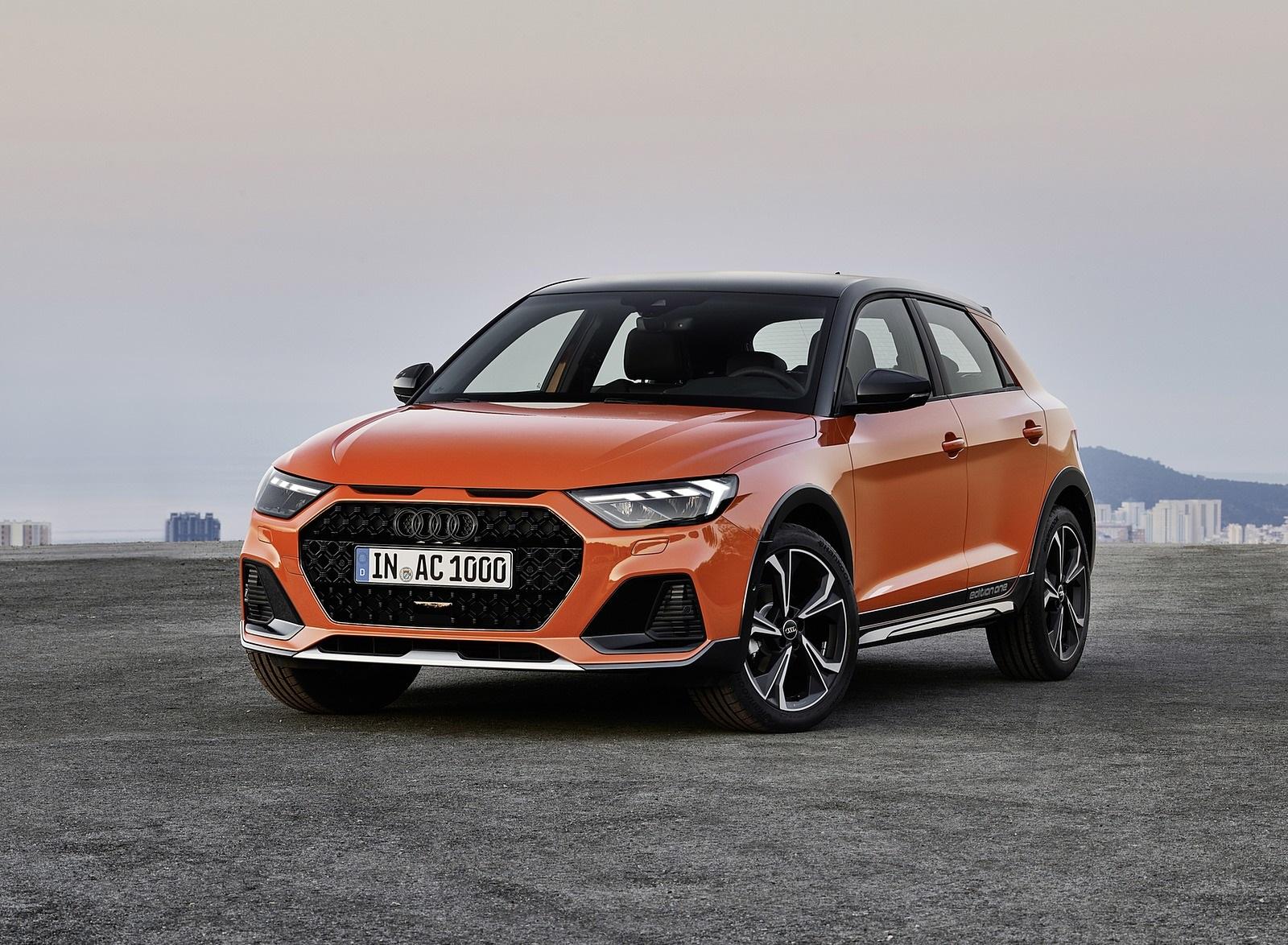 2020 Audi A1 Citycarver (Color: Pulse Orange) Front Three-Quarter Wallpapers (11)